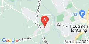 Google static map for Andrew Grey Funeral Directors, Houghton Le Spring