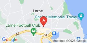 Google static map for Mulhollands of Larne