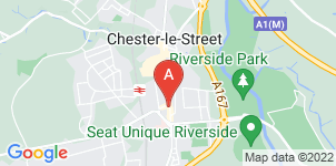Google static map for A M Ranson Funeral Director