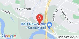 Google static map for All Seasons Independent Funeral Directors
