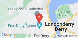 Google static map for Abbey Funeral Services