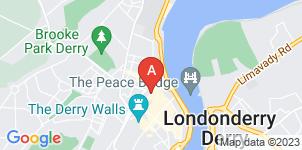 Google static map for Bradley & McLaughlin Funeral Directors, City Office