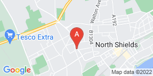 Google static map for The Co-operative Funeralcare, North Shields