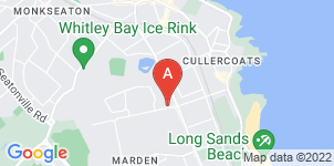Google static map for R.J Ryland Funeral Services