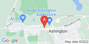 Google static map for John Grenfell & Son, Ashington