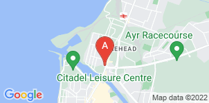 Google static map for Armours Funeral Service, Ayr