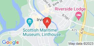 Google static map for Bennett's Funeral Directors, Irvine