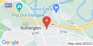 Google static map for The Co-operative Funeralcare, Rutherglen