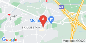 Google static map for Birrell Corrance Funeral Director