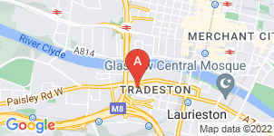 Google static map for The Co-operative Funeralcare, Tradeston