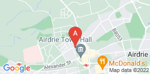 Google static map for McAllister Funeral Directors