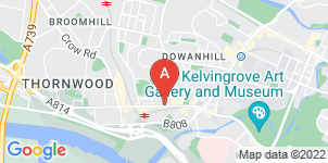 Google static map for The Co-operative Funeralcare, Partick