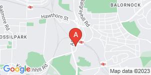 Google static map for The Co-operative Funeralcare, Springburn