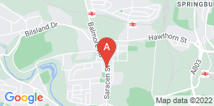 Google static map for The Co-operative Funeralcare, Possilpark