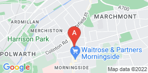 Google static map for Barclays Funeral Directors, Morningside