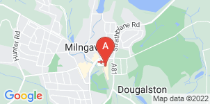 Google static map for McLays Funeral Directors