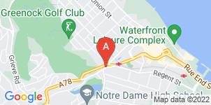 Google static map for Inverclyde Funeral Directors, Greencock