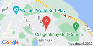 Google static map for John McGillivray Funeral Directors