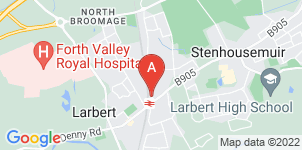 Google static map for Forth Valley Funeral Directors