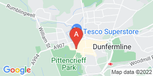 Google static map for Scotmid Funerals, Dunfermline