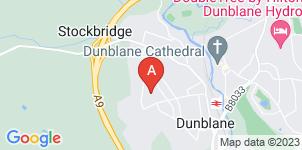 Google static map for McIntyre Funeral Directors