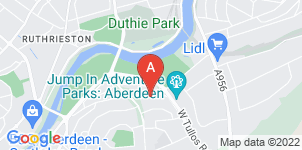 Google static map for Mark Shaw Funeral Services, Aberdeen