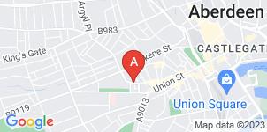 Google static map for MacIntosh & Steven Funeral Directors, Aberdeen