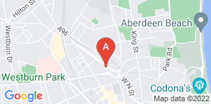 Google static map for Aberdeen Funeral Directors