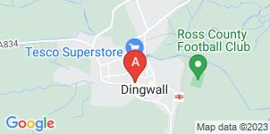 Google static map for Alasdair Rhind Funeral Directors, Dingwall