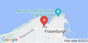 Google static map for Fraserburgh Funeral Services Ltd
