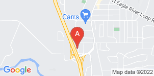 Google static map for Evergreen's Eagle River Funeral Home
