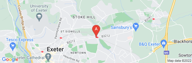Google static map for Shoobridge & Son Funeral Services