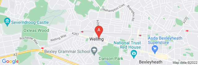 Google static map for P L Mulligan Funeral Directors, Welling