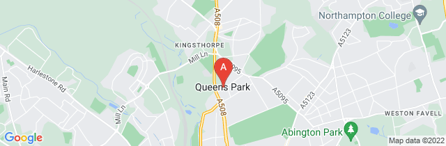Google static map for Kevin Matthews Funeral Service, Kingsthorpe
