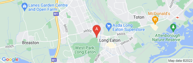 Google static map for A.W. Lymn Long Eaton