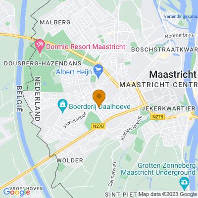 Google maps Trichterveld (14 woningen) Maastricht