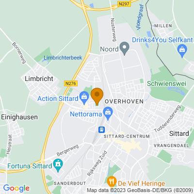 Google maps Hof van Langfoor (28 appartementen), Sittard