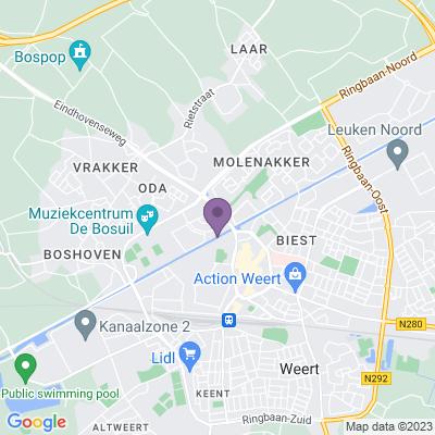 Google maps Park Zuytwillemsvaert (75 appartementen), Weert