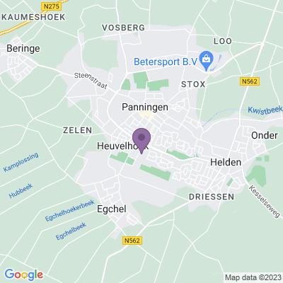 Google maps Piushof Panningen