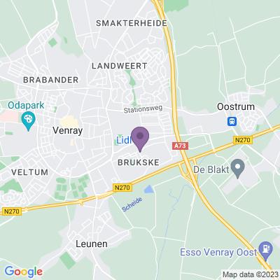 Google maps Brukske (20 appartementen) Venray