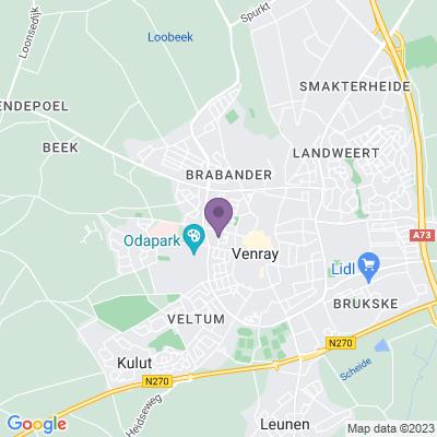 Google maps Kruitweg, Venray