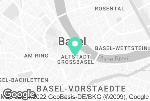 Location on the map of Catalyze office  in Basel