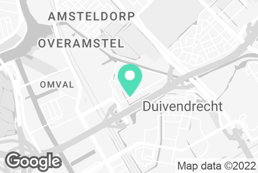 Location on the map of Catalyze office  in Amsterdam (HQ)