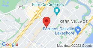 Static Map image of Oakville Office Address