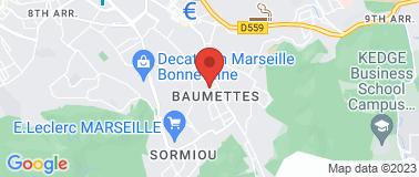 Hôtel 96 Marseille - Plan