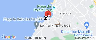 Marché de la Pointe Rouge - Plan