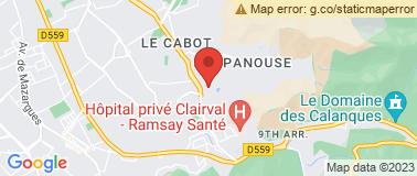Bureau de poste La Rouvière - Plan