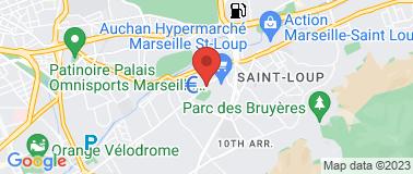 Piscine Pont de Vivaux - Plan