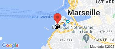 Cercle des Nageurs Marseille - Plan