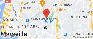 Le Palais Longchamp - Plan
